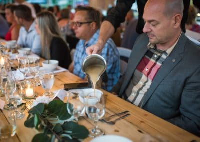 longtable event at hopcott meats