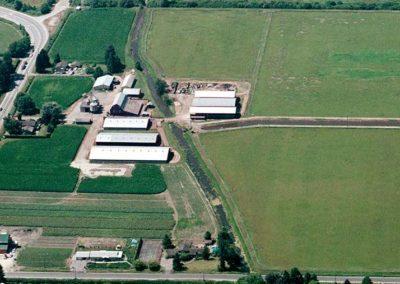 Aerial view of Hopcott Farms