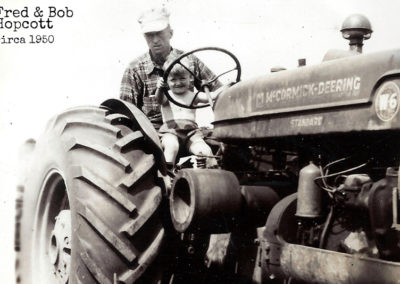 Fred and Bob Hopcott Circa 1950