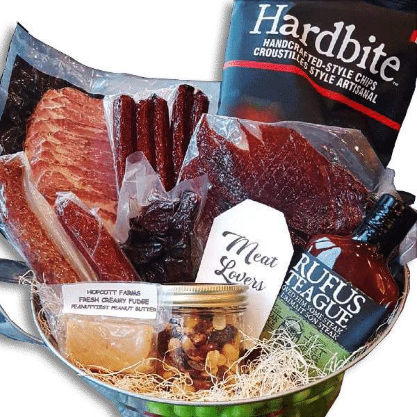 meat lovers gift basket