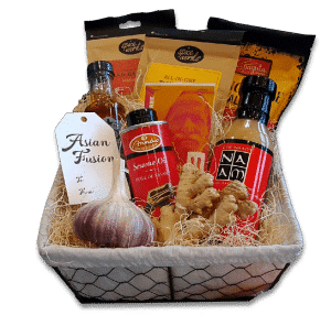 Asian Fusion Gift Basket