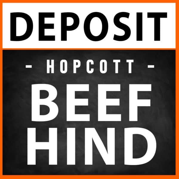 Beef Hind Deposit