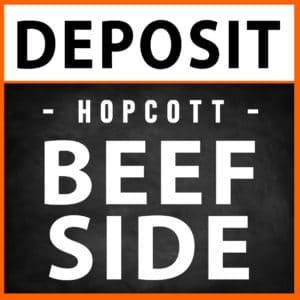 Beef Side Deposit